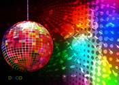 Main thumb rainbow disco ball