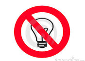 Main thumb no incandescent light bulb sign 8974469