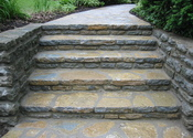 Main thumb fieldstone steps  walk 002 khhb